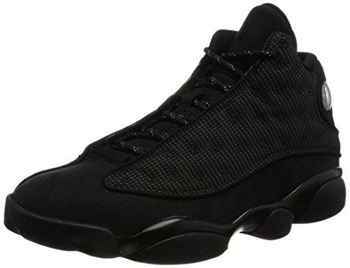 Jordan 13 Men's Shoes Shoes Black/Anthracite 414571-011 (9.5 D(M) US)