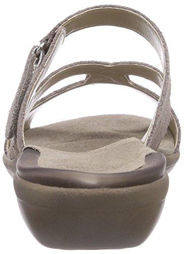 Scholl KENSIT taupe - sandalias abiertas de cuero mujer marrón - marrón (taupe)