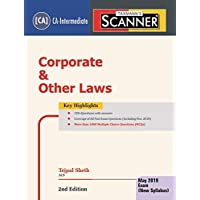 Scanner-Corporate and Other Laws (CA-Intermediate)(For May 2019 Exam-As per New Syllabus)