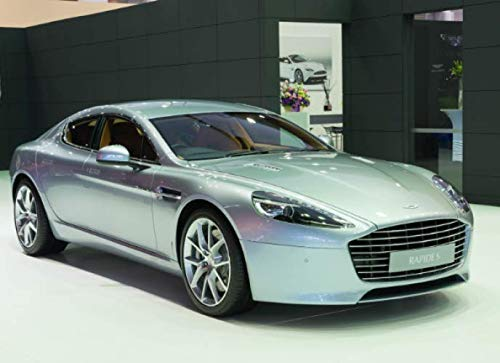 Aston Martin Rapide S: 120 pages with 20 lines you can use as a journal or a notebook .8.25 by 6 inches