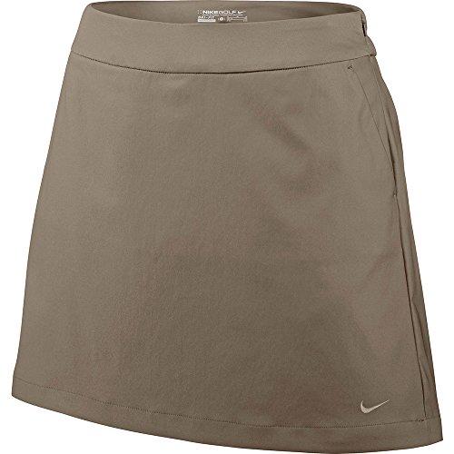 Nike Golf Women's Tech Essentials Classic Plaid Short, Khaki, 4