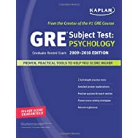 Kaplan GRE Exam Subject Test: Psychology 2009-2010 Edition