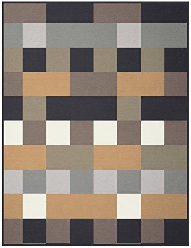 Biederlack Orion Decke/Überwurf aus Baumwolle 150x 200cm, mehrfarbig, Habitat, 180x220
