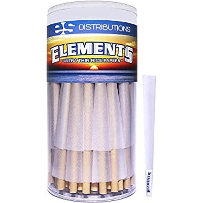Elements Pre-Rolled Cones King Size Variation
