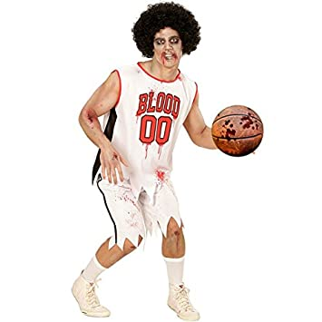 Disfraz Zombie Baloncesto Player Jugador Sport Basket Costume ...