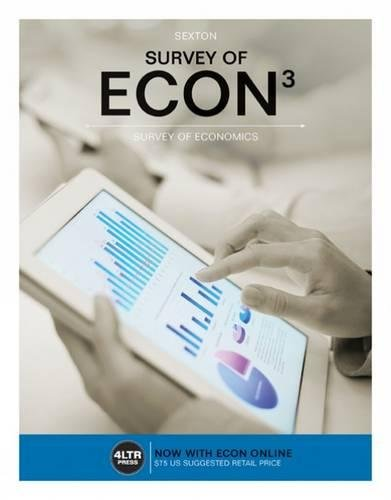 Price comparison product image Survey of ECON (with Survey of ECON Online, 1 term (6 months) Printed Access Card) (New, Engaging Titles from 4LTR Press)