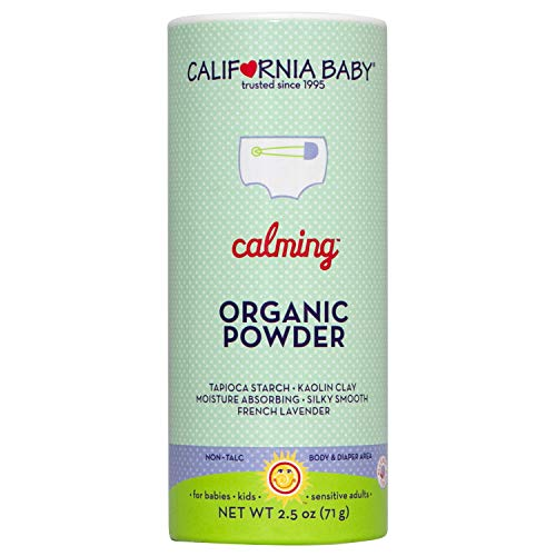 California Baby Calming Organic Powder (2.5oz) Our talc-free, vegan, certified organic powder is safe for all ages and…