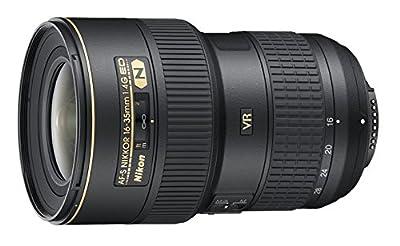 Nikon AF-S FX NIKKOR 16-35mm f/4G ED Vibration Reduction Zoom Lens