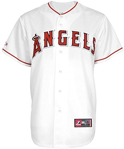 80df8e911bb Amazon.com   VF Los Angeles Angels MLB Majestic White Replica Baseball  Jersey Big   Tall Sizes (4XL)   Clothing