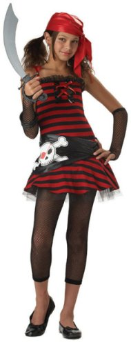 Pirate Tween Costumes Halloween (Pirate Cutie Costume -)
