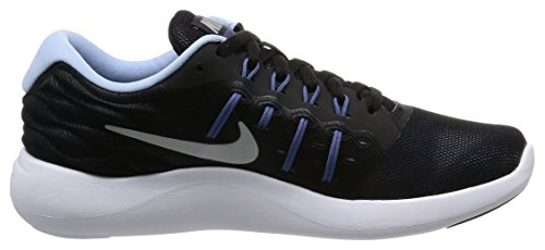 Scarpa Da Running Da Uomo Nike Womens Lunarstelos Nero / Argento Metallizzato