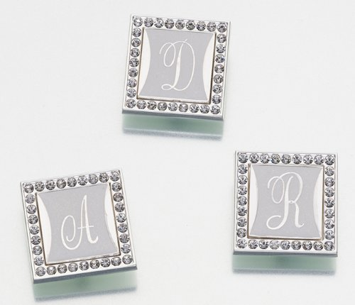 picture of Lillian Rose Monogram Clip with Frame, Letter O, 1-Inch