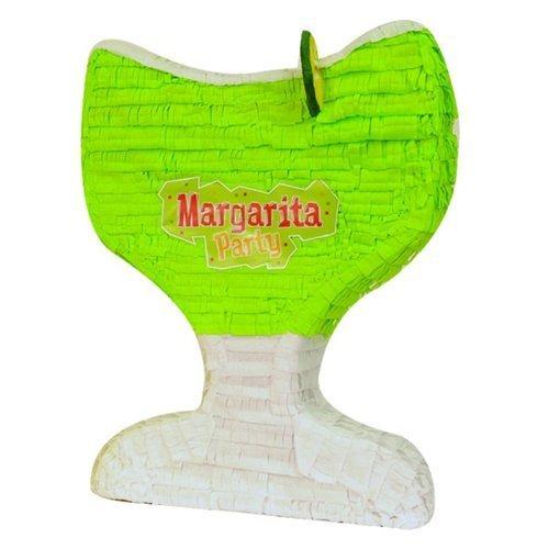 Pinatas Margarita Glass Mexican Fiesta Pinata, Party Game, Decoration Centerpiece and Photo (Adult Pinata)
