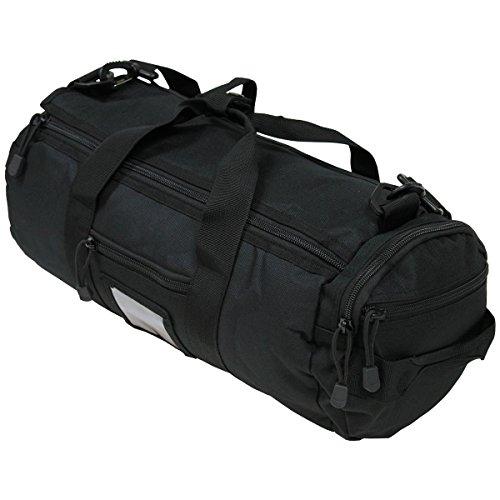 "MFH Mochila Bolso Bolsa Hombre Mujer Militar Operation Bag, Round, ""MOLLE, Black"