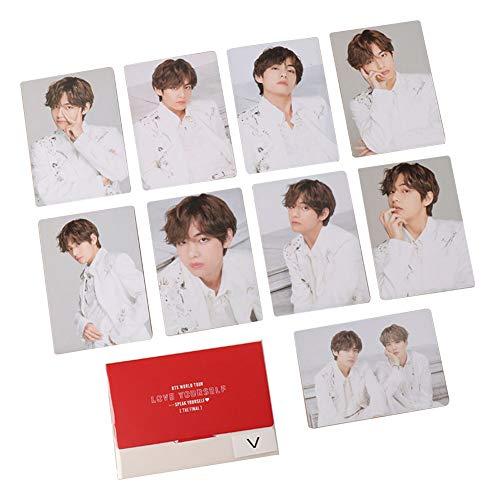 Jacobera Kpop BTS Photocards, Bangtan Boys World Tour 'Speak Yourself' The Final Lomo Cards for BTS Army(7 PCS - V) from Jacobera