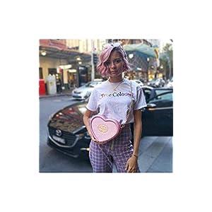 U Wear Ltd Bags Pink Polly Pocket Heart Shaped Cross Body Bag Pink