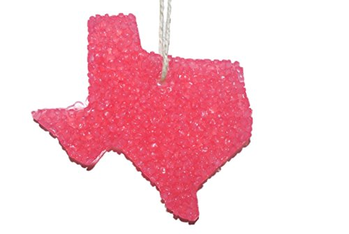 ChicWick Car Candle Love Spell Texas Shape Car Freshener Fragrance -