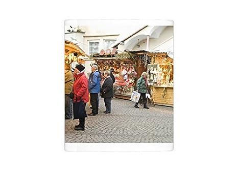 Taza de la foto de compradores en Navidad cabinas de Stern ...