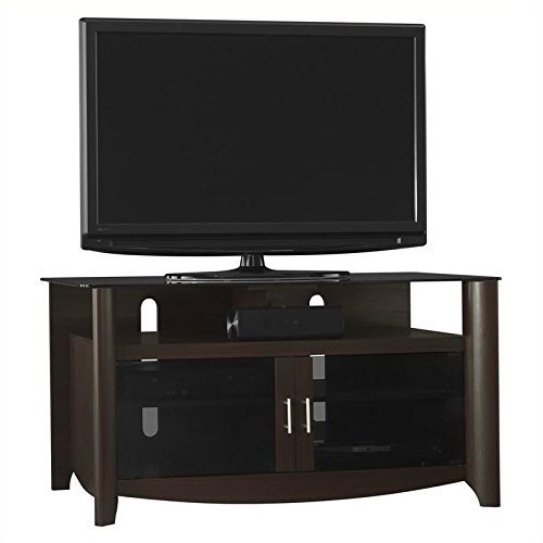 Bush Furniture Glass Tv Stand (Bush Furniture Aero TV Stand in Andora)