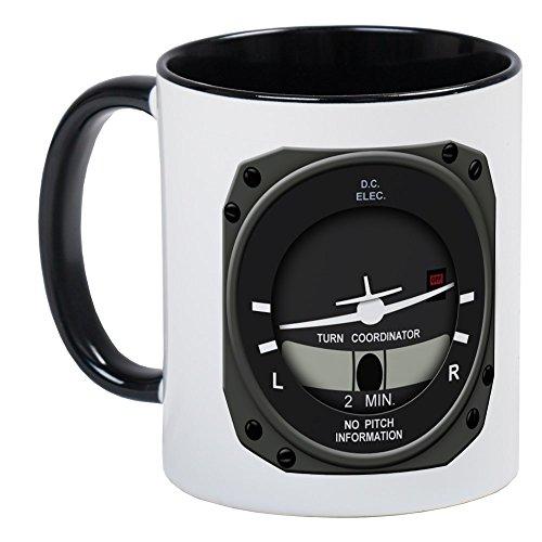 CafePress Attitude &Amp; Turn Coordinator Mugs Unique Coffee Mug, Coffee Cup
