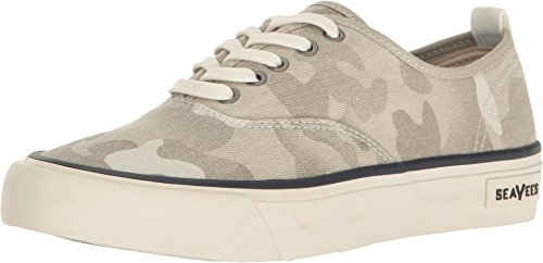 (SeaVees Women's Legend Standard Sneakers, Cream Camo, 10 B(M) US)