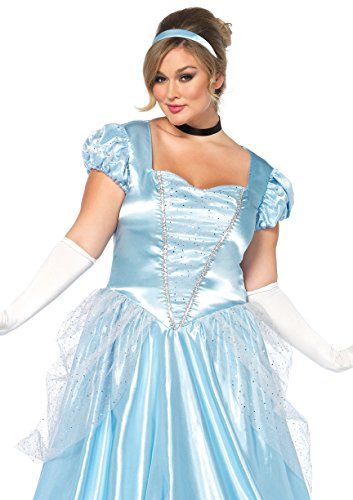 [Classic Cinderella Adult Costume - Plus Size 1X/2X] (Plus Size Raccoon Costumes)