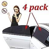 Car Window Shade, Car Sun Shade for Baby - Car Side Rear Sun Shade with UV Rays Protection - 2 Pack for Front Window and 2 Pack for Back Window