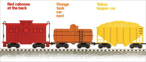 Freight Train Big Book (Mulberry Big Book)
