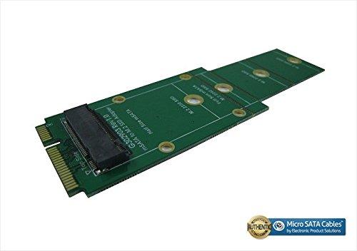 Micro SATA Cables mSATA to M.2 / NGFF B Key Connector Adapter