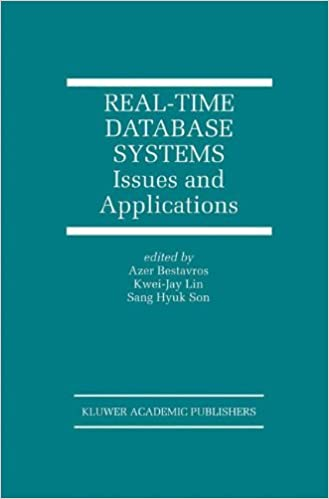 Book Real-Time Database Systems: Issues and Applications (The Springer International Series in Engineering and Computer Science)