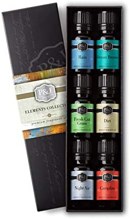Elements Set Fragrance Oils Campfire