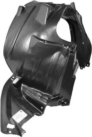 Passenger Side QP H1746-a Honda Right Rh Front Inner Fender Liner