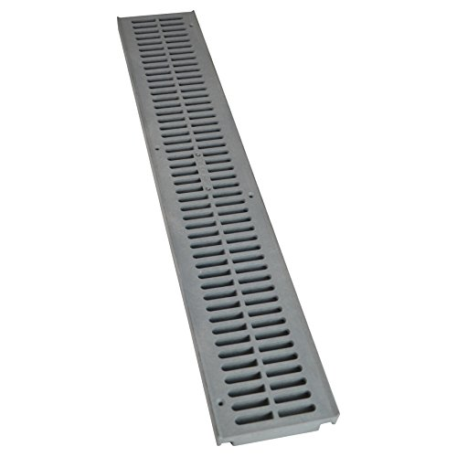 NDS 241-1 Spee-D Channel Drain Grate, Gray