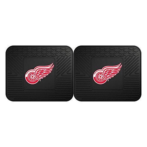 FANMATS 12395 NHL - Detroit Red Wings Utility Mat - 2 Piece