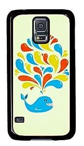 Cute Dolphin Theme Samsung Galaxy S5 I9600 Case