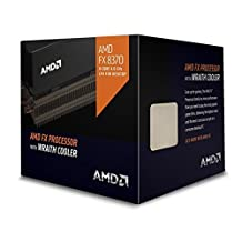 AMD Octa-core FX-8370 4GHz Desktop Processor, Black Edition FD8370FRHKHBX