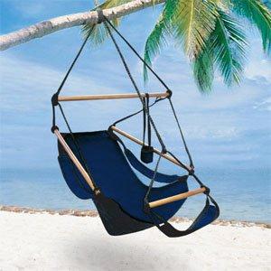 deluxe hammock chair   navy blue amazon     deluxe hammock chair   navy blue   garden  u0026 outdoor  rh   amazon