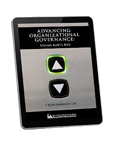 Download Advancing Organizational Governance: Internal Audit's Role Pdf