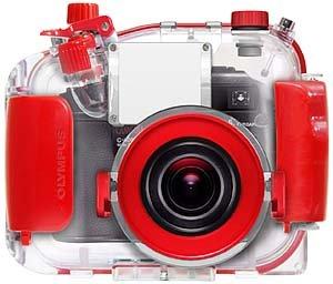Amazon.com: Olympus PT-020 la carcasa submarina para cámara ...