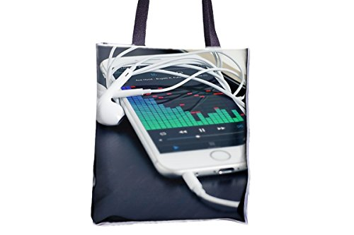 Best Womens Allover Printed Tote 'Tote Totes Bags Music Large Tote Tote Best Tote Bags iPhone Technology Bags Professional phone Bags Totes Popular Popular Bag Professional Large Mobile IXqvRCxw