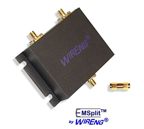 - EMSplit-SMATM Two-Way Wide Band Bidirectional Splitter for Boosters, Amplifiers, Repeaters (EMS-50-OHM-S) with SMA Connectors