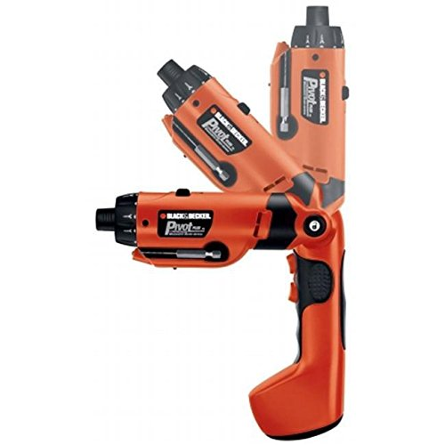 Black & Decker Power Tools 6 Volt PivotPlus All-In-One Cordless Drill PD600 /RM#G4H4E54 E4R46T32594910 by amaebvivison