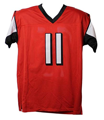 Julio Jones Autographed/Signed Atlanta Falcons XL Red Jersey BAS
