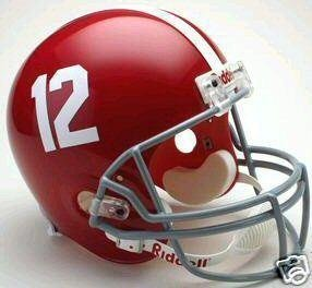 Sports Memorabilia Alabama Crimson Tide Riddell Full Size Deluxe Replica Football Helmet - College Replica Helmets (Deluxe Helmet Replica 12)