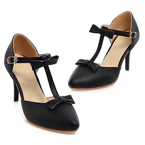 strap T Women KemeKiss Pumps Black Fashion tgPBBFxwq