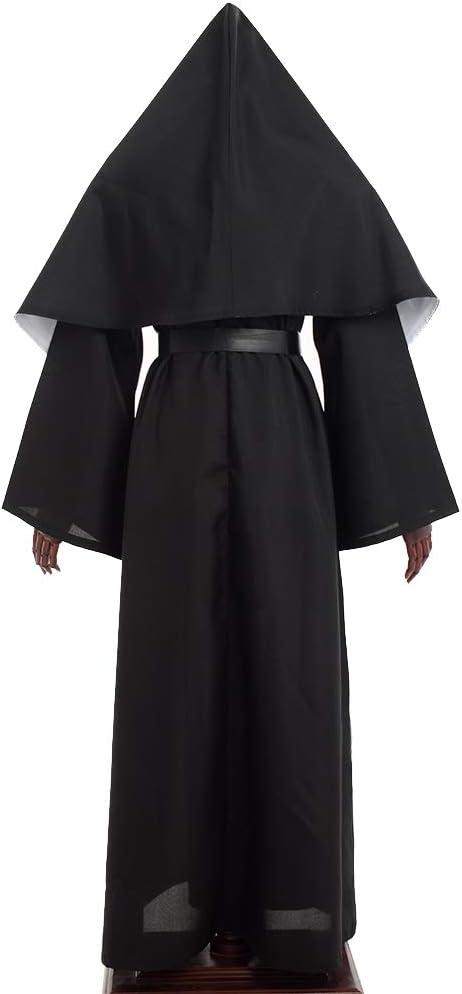 GRACEART The Nun Deluxe Adulto Disfraz de Monja para Mujer (2XL ...