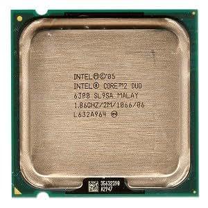 Intel Core 2 Duo E6300 1.86GHz 1066MHz 2MB Dual-Core CPU