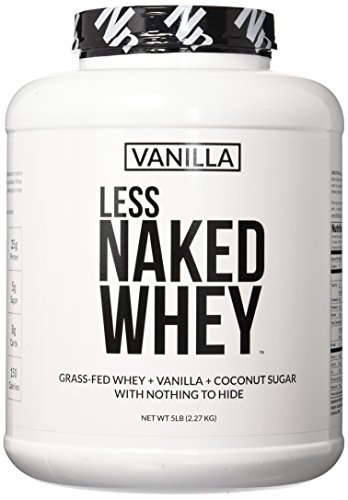 LESS NAKED WHEY GMO Free Recovery