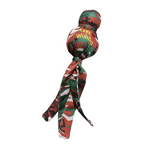 - KONG Camo Wubba Dog Toy, Large, Colors Vary