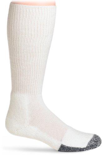 Thorlos Thick Padded Basketball Crew Sock White XL